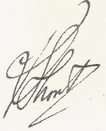 Signature of Lt. R.A.F. Short (National Archives KV 2/24)