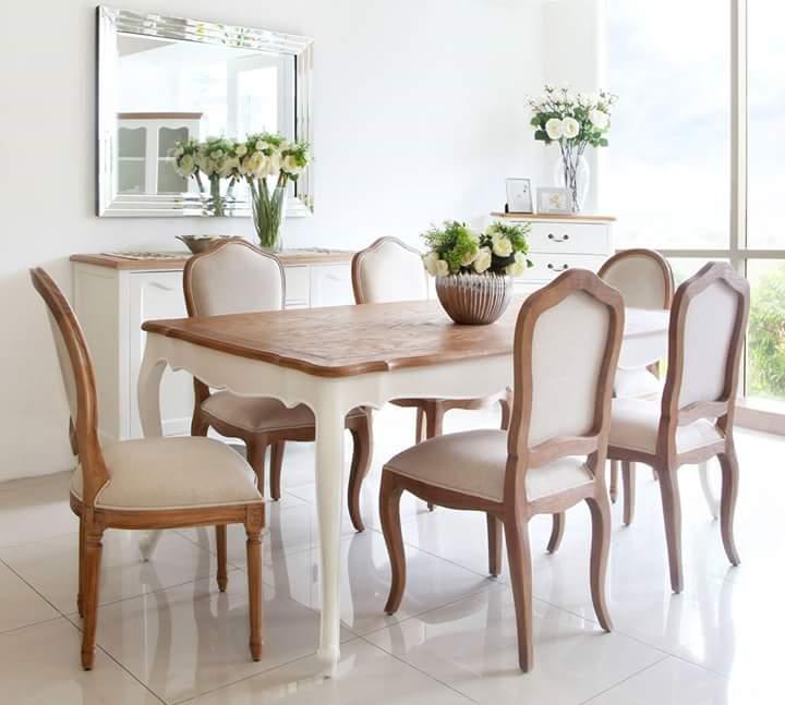 Set Makan Kayu Modern Teras Furniture