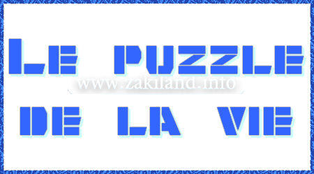 Le puzzle de la vie - illusion optique et pensée positive
