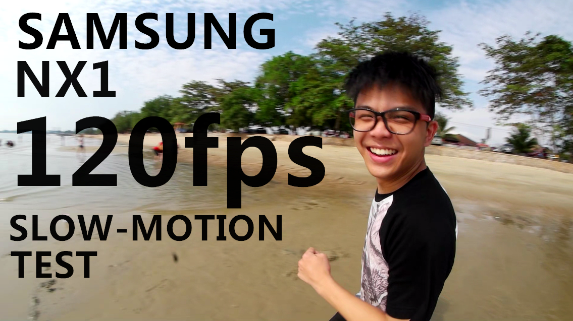 Samsung NX1 120FPS Slow-Motion Video Test: Happy Kid At The Beach
