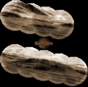 Sol 1297 Curiosity ChemCam Pahrump Hills