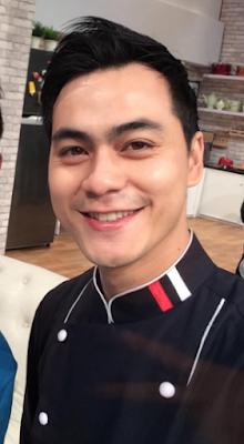 foto ganteng Chef Steby Rafael
