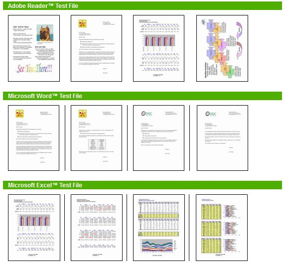 dokumen sebagai test print dengan standard ISO / IEC 24734
