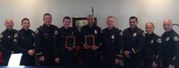 Images of Pomona: Pomona PD Officers and LA County Fire