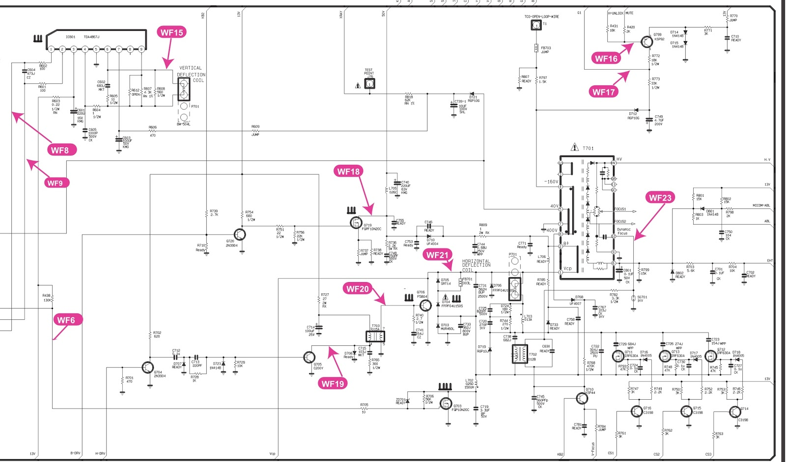 working of crt monitor with diagram battery wiring for club car golf cart lg flatron c17lc  17 inch circuit
