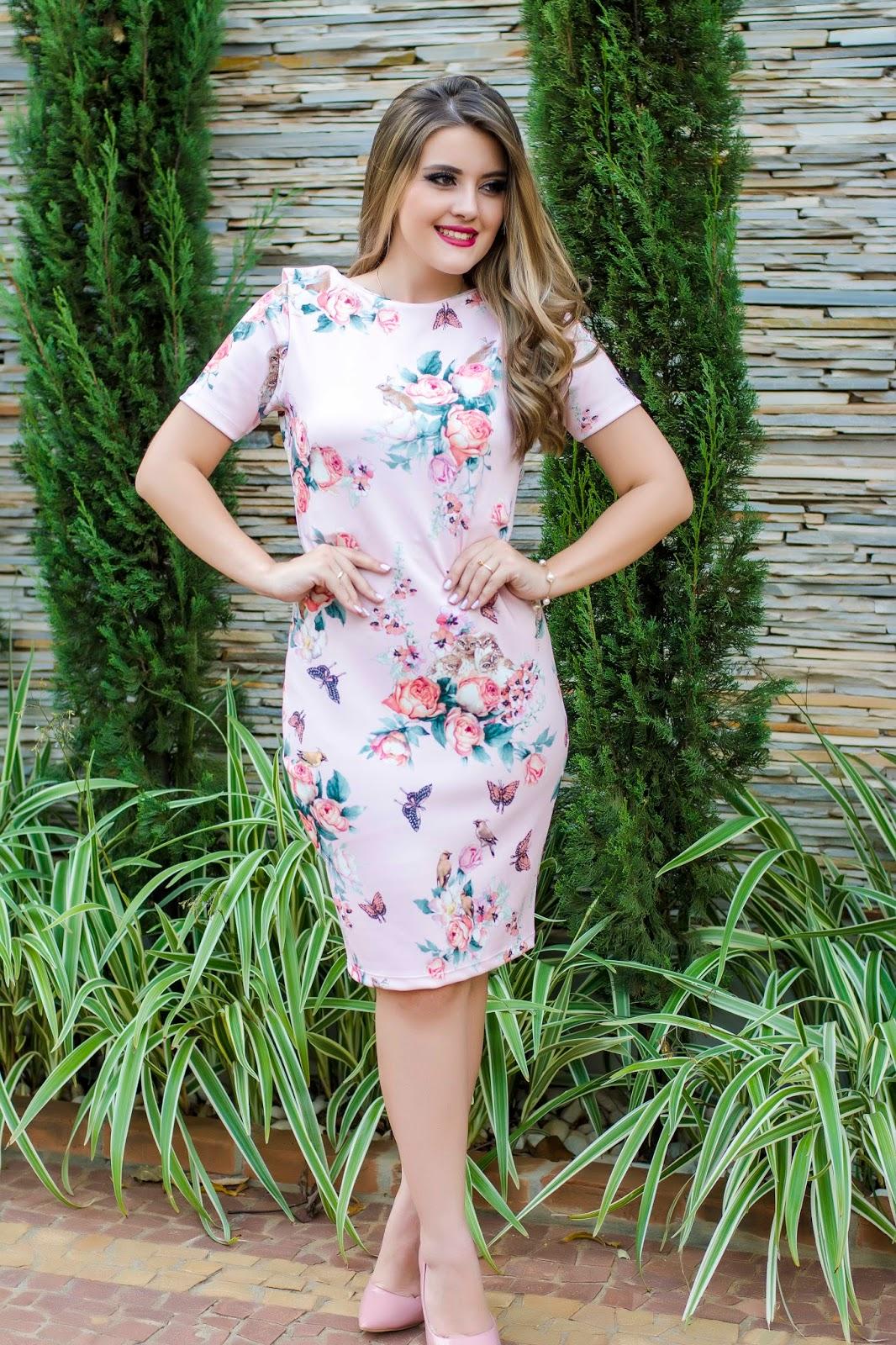 95ac63cc97c Blog da Lari  Meu Look  Vestido Tubinho - Moda Enncante