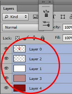 Cara Memindahkan Gambar dalam Photoshop