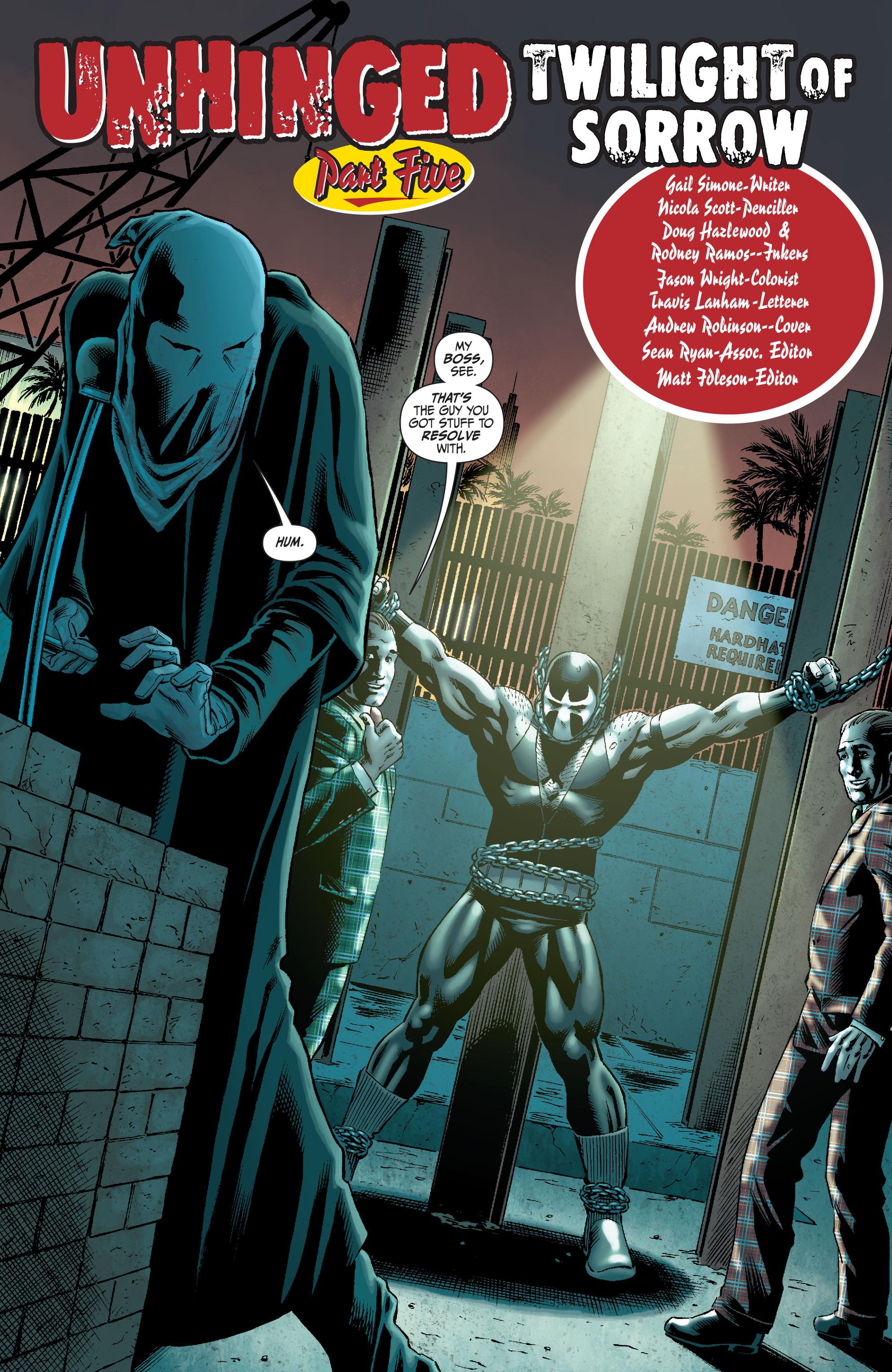 Read online Secret Six (2008) comic -  Issue #5 - 3