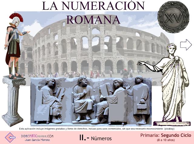 La numeración romana (2º y 3º ciclo de Primaria)