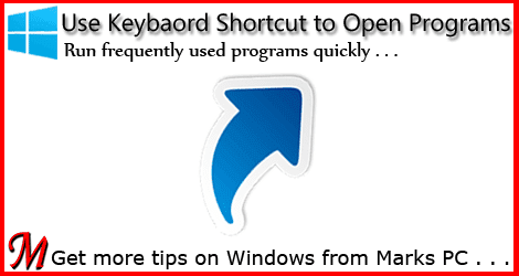 Create Keyboard Shortcuts for Programs