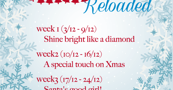 The Christmas Advent Challenge Reloaded!