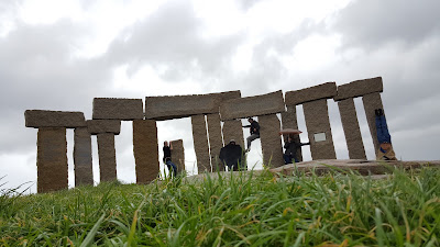 Stonehenge? Not quite