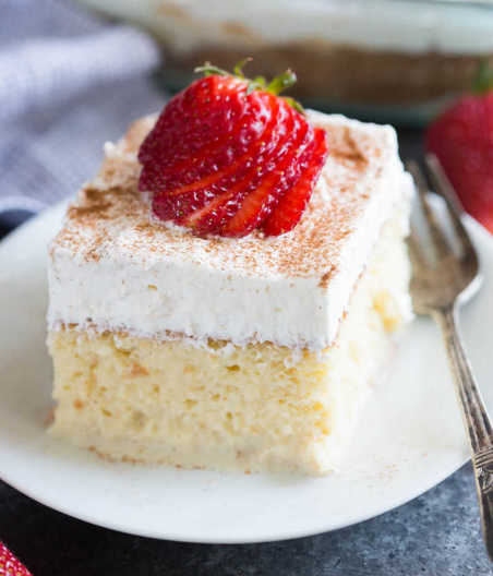 TRES LECHES CAKE #delicious #trescake
