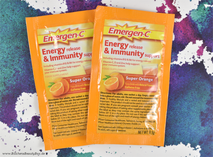 Lookfantastic Beauty Box Emergen-C
