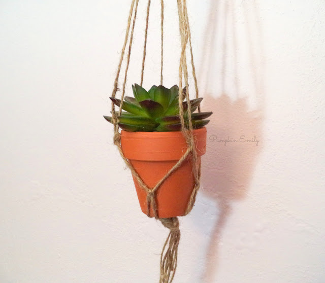 DIY Macrame Planter