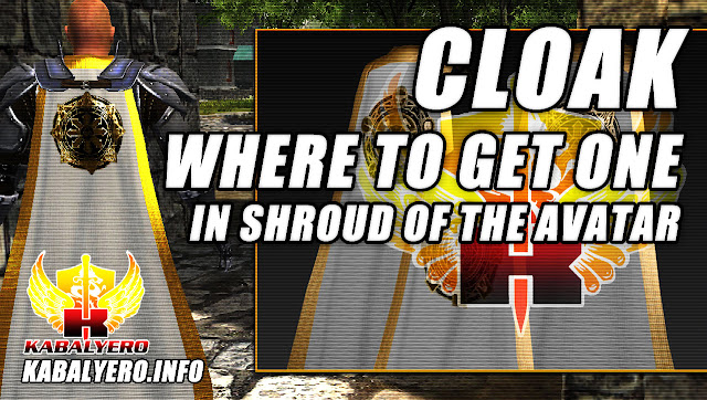 Where To Get A Cloak In Shroud Of The Avatar?