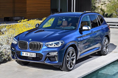 BMW X3 xDrive M40i (2018) Front Side