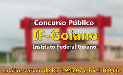 Apostila Concurso IF-Goiano - Instituto Federal Goiano - 2017