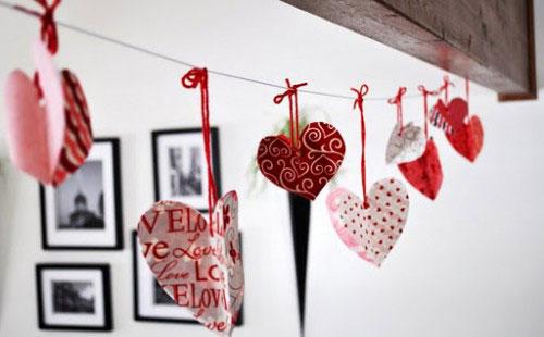 San valentino idee di decorazione per la tua casa home staging italia - Idee serata romantica a casa ...