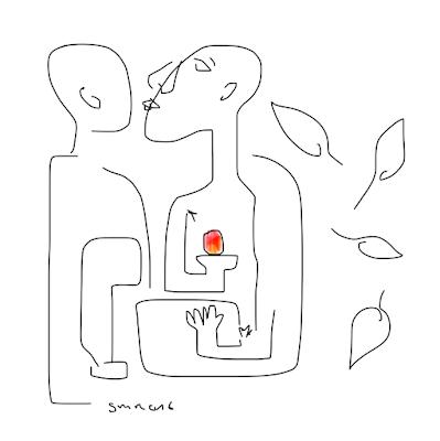 résurrection de Pygas, dessin