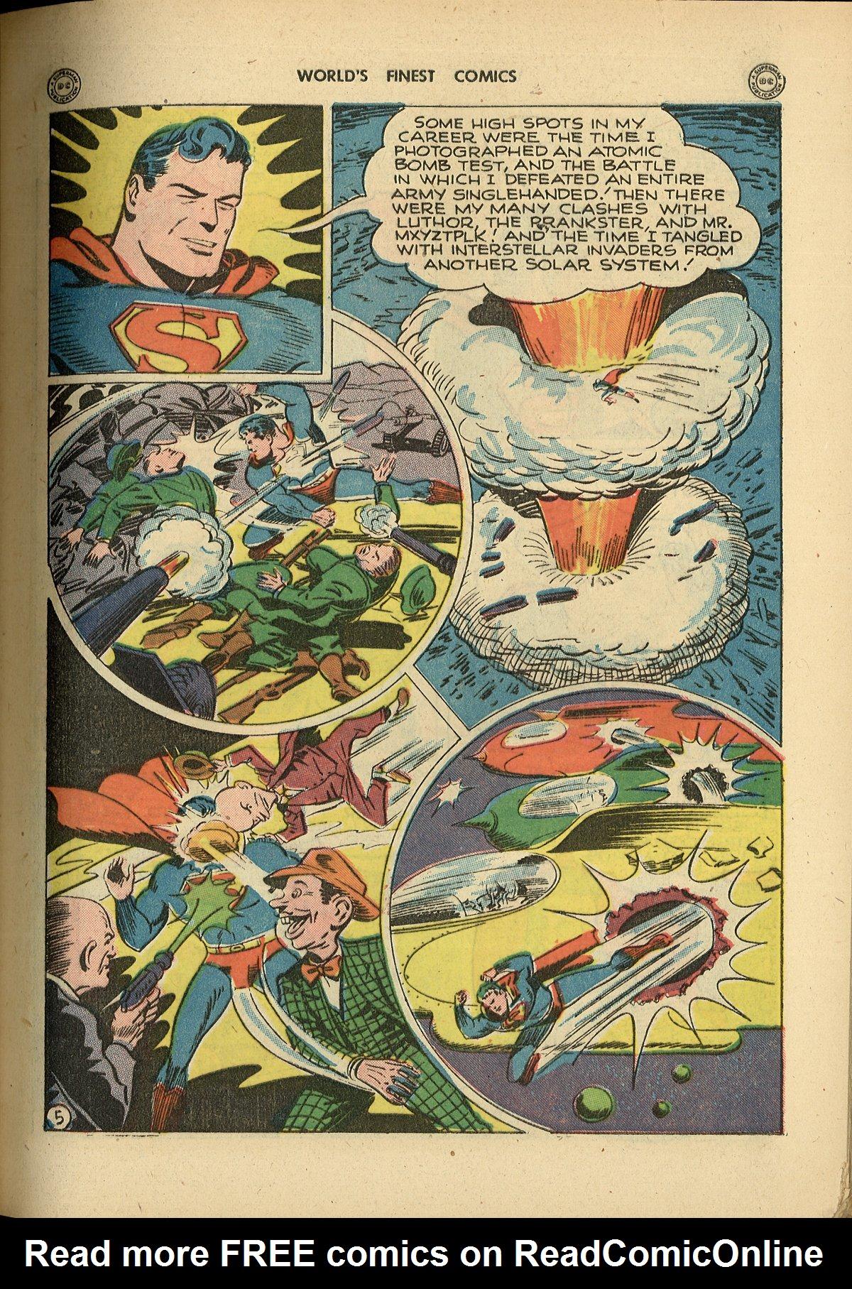 Read online World's Finest Comics comic -  Issue #26 - 7