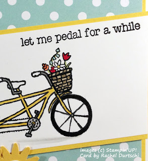 Card made with Stampin'UP!'s Pedal Pusher Stamp Set