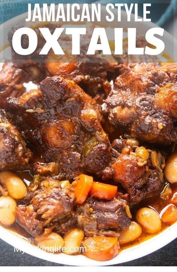 Jamaican Oxtails Recipe