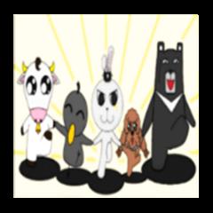 Animal Party - A Rabbit