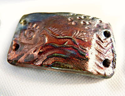 Raku bracelet bar from Star Spirit Studio.