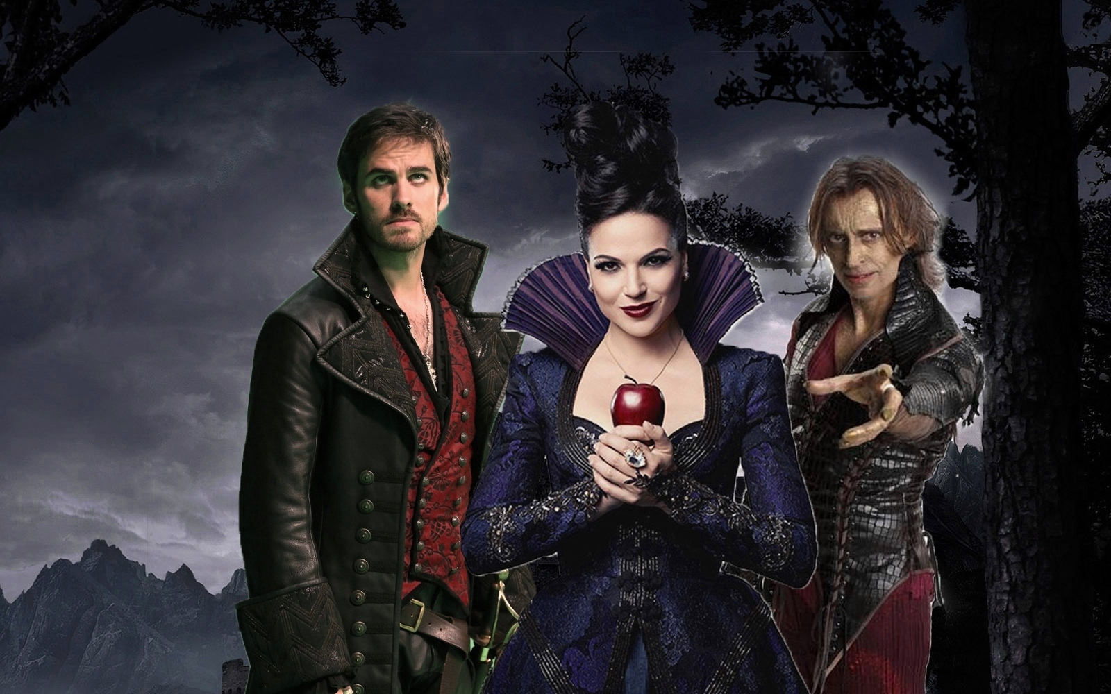Series and PopCorn: Wallpapers Once Upon a Time