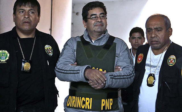 César Álvarez, el exgobernador de la región Áncash