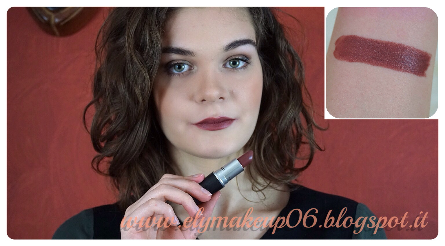 Famoso ElyMakeup: My Mac Lipstick Collection | I Miei Rossetti Mac Swatch  UB29