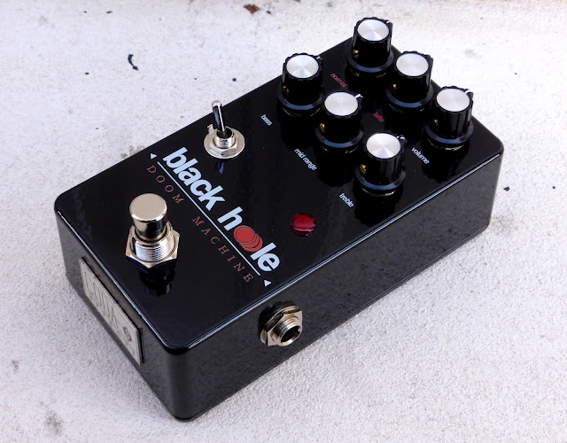 Coda Effects Black Hole - Sunn Model T preamp