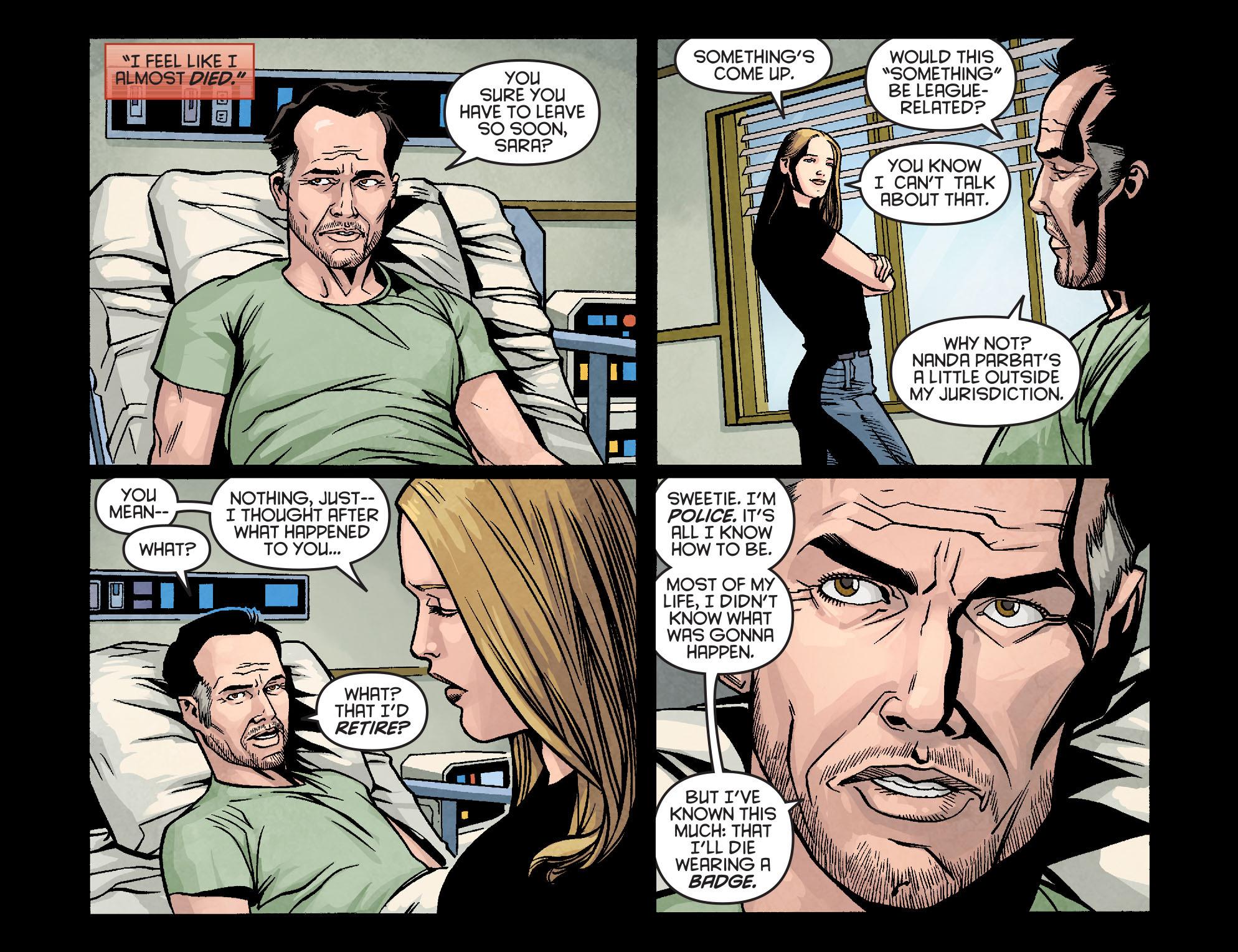 Read online Arrow: Season 2.5 [I] comic -  Issue #9 - 15