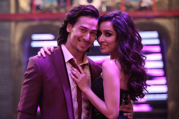Tiger Shroff and Shraddha Kapoor in 'Let's Talk About Love' song from Baaghi.