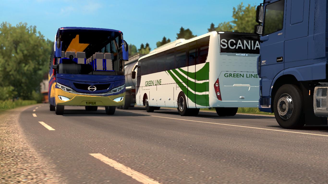 Ena Bus Mod For Euro Truck Simulator 2 - BD GameX