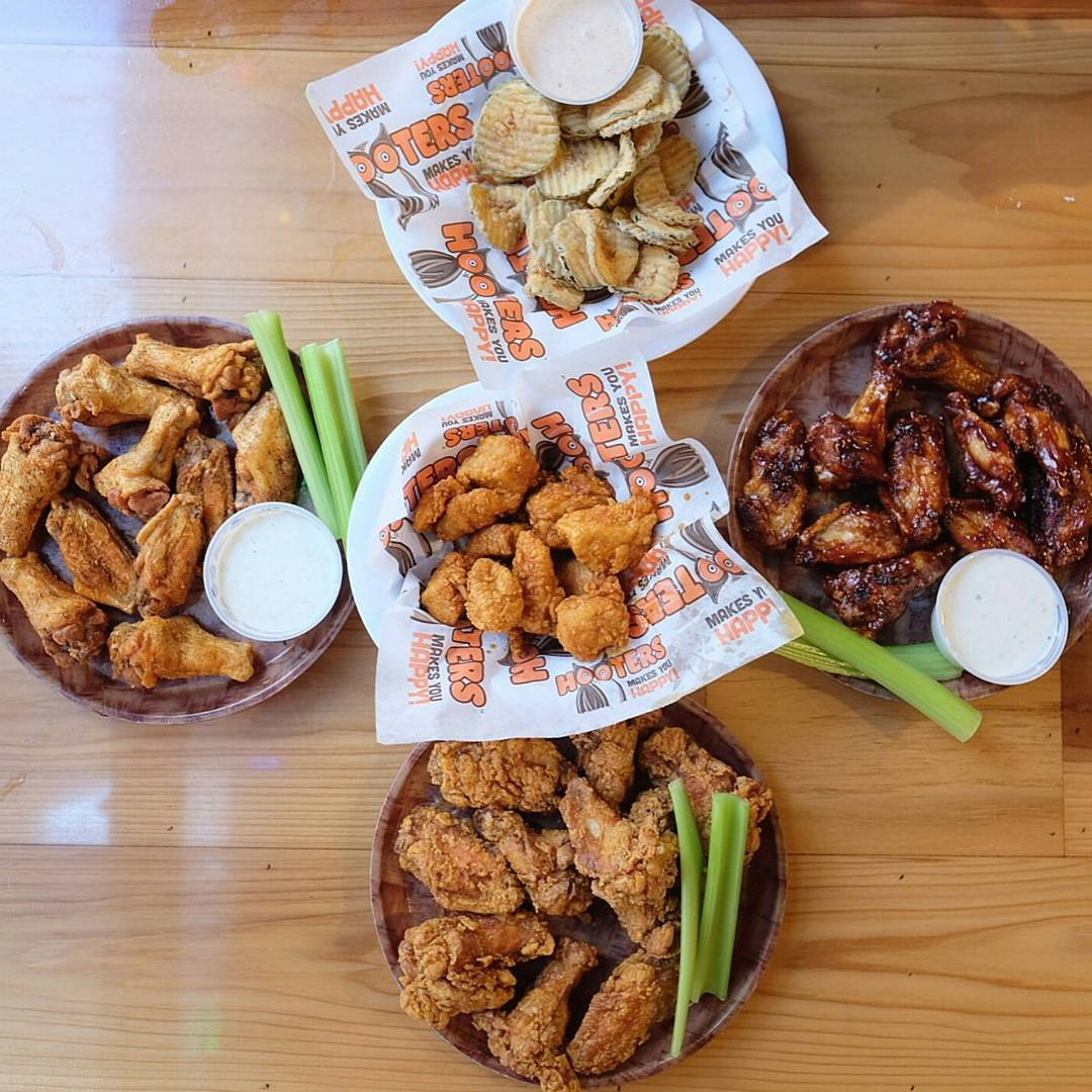 Hooters Menu and Price List Latest