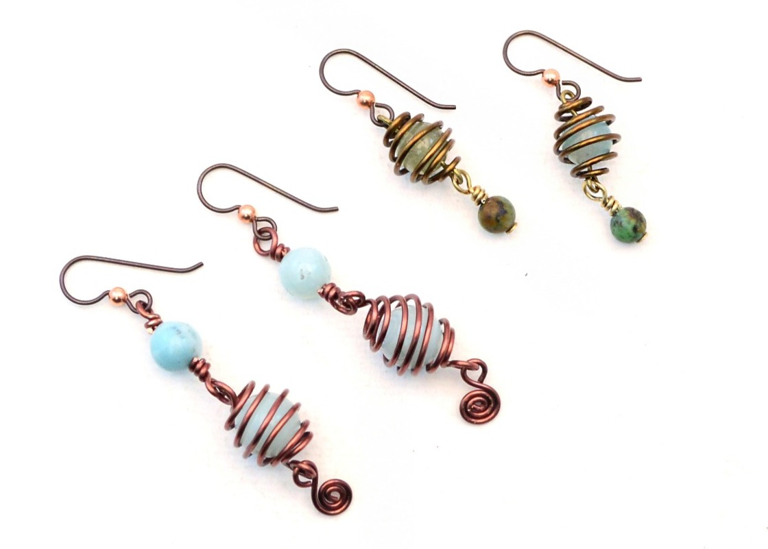 The Bead Table: Free Tip Friday: Making Wire Beads with Kate