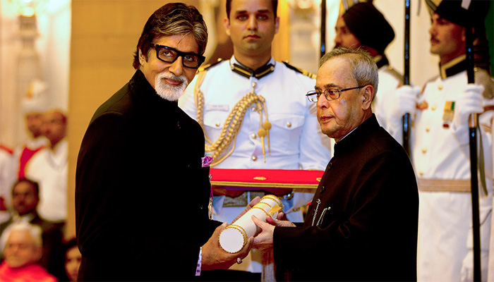 Amitabh Bachchan Padma Vibhushan Award