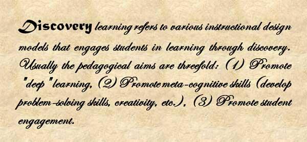 definisi model pembelajaran penemuan (discovery learning- DL)