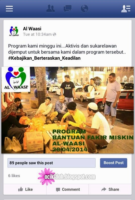 Program Bantuan Fakir Miskin.