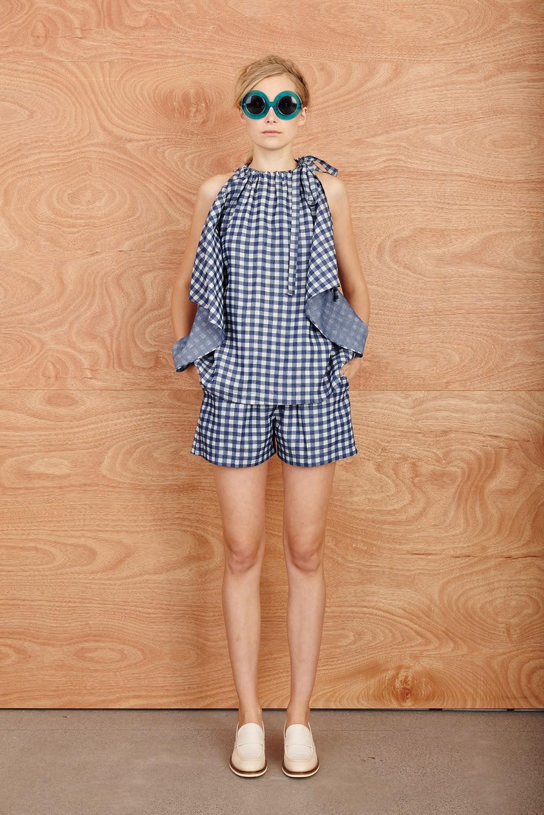 Patrón vestido o blusa fácil con un rectángulo de tela. Copiando a Karen Walker