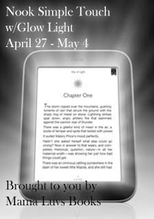 Nook simple touch with glow light giveaway