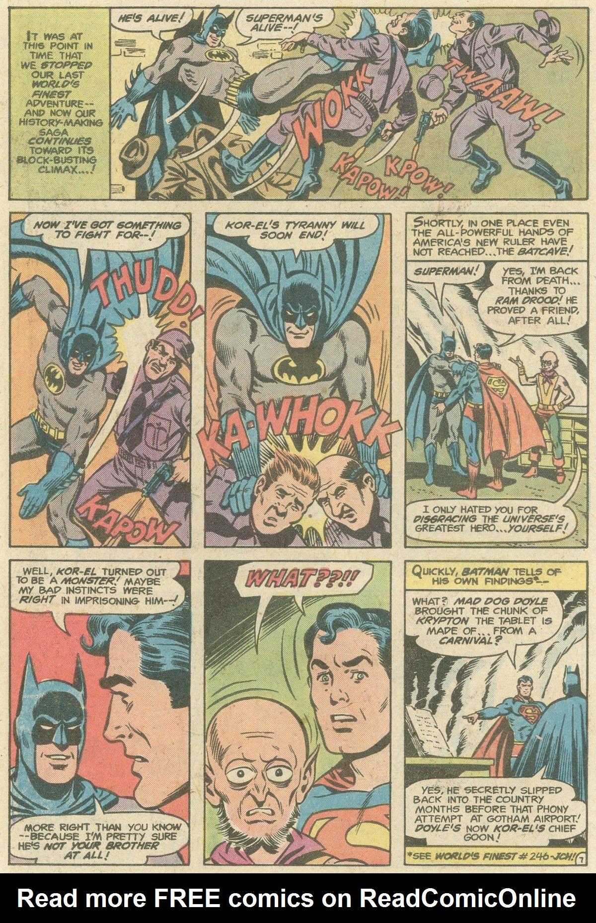 Read online World's Finest Comics comic -  Issue #247 - 10