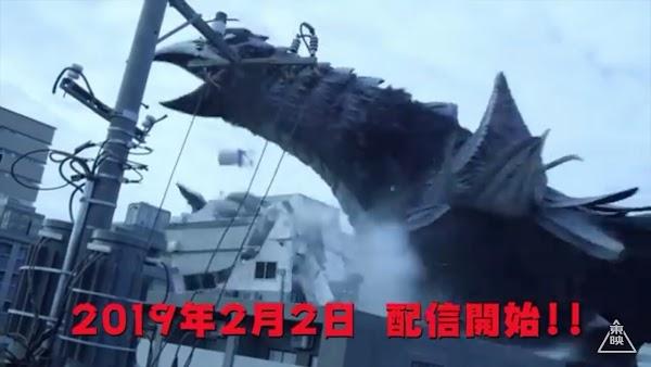 Serial Tokusatsu Kaiju Ward Gallas Rilis Trailer Menegangkan