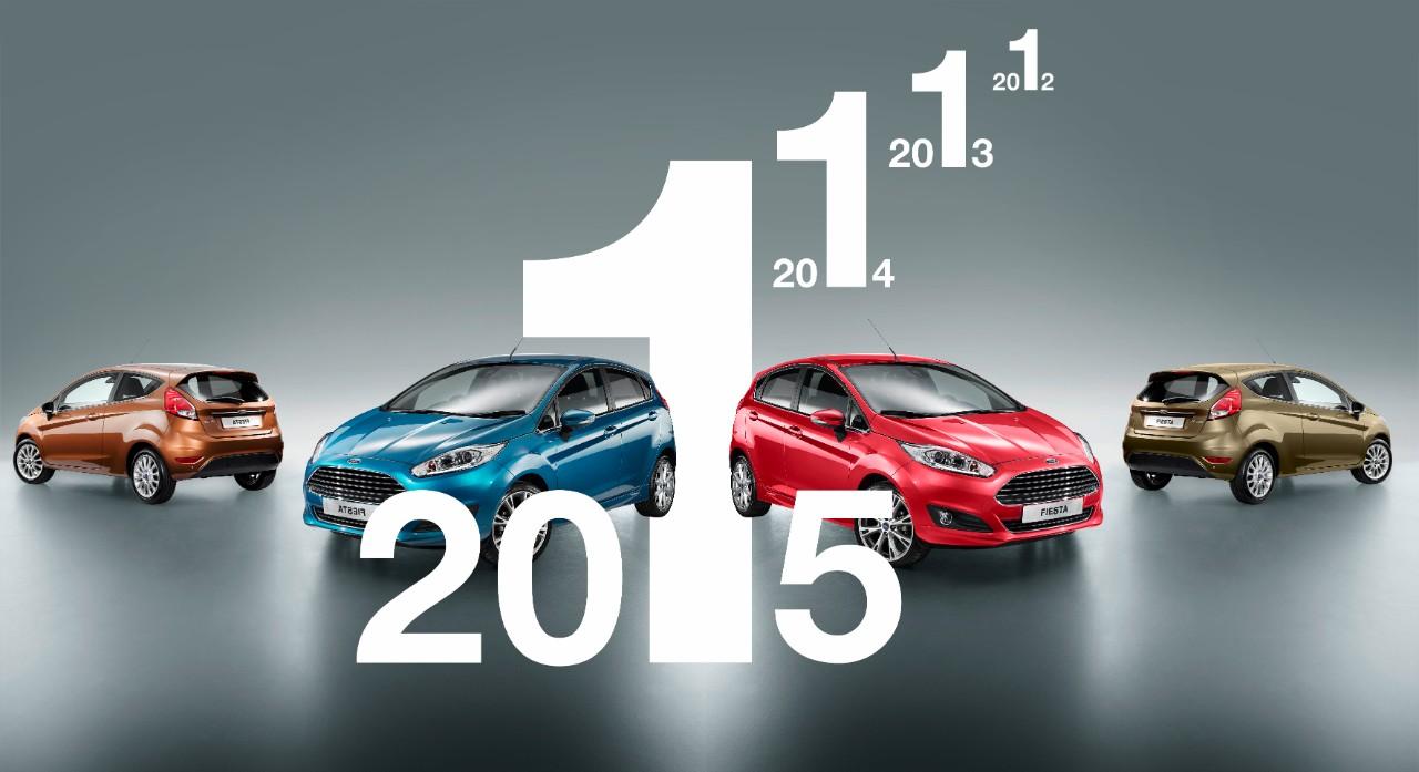 2015 beste%2BSelling hr Το Ford Fiesta Ευρωπαϊκό Bestseller για 4η χρονιά!