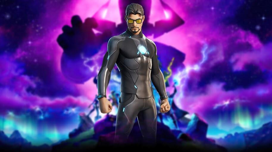 Fortnite, Tony Stark, Marvel, 4K, #7.2564