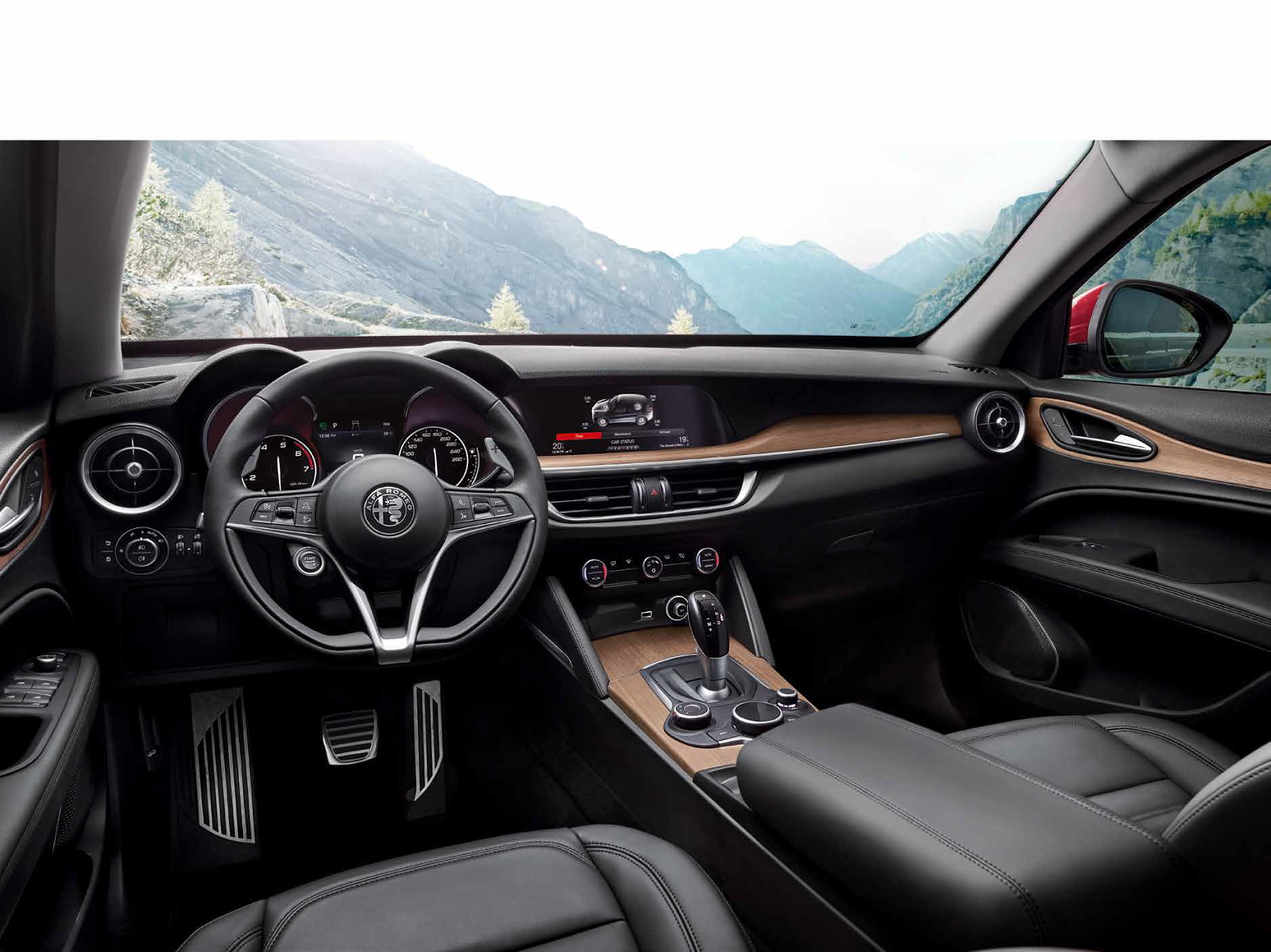 Foto Alfa Romeo Stelvio First Edition interni