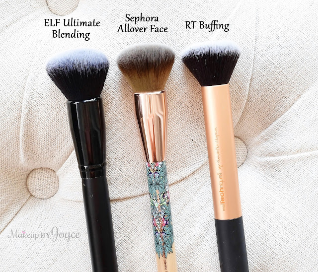 Sephora Mara Hoffman Allover Face Brush Review Dupe Real Techniques Buffing
