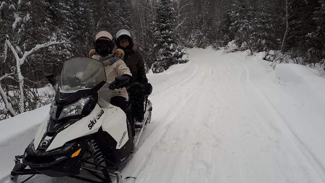 Centre d'aventure Mattawin motoneige ski-doo
